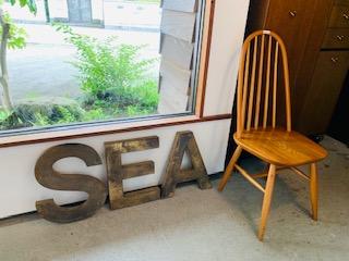 バークレーの風に、海が来た!骨董cafe156最終日です。