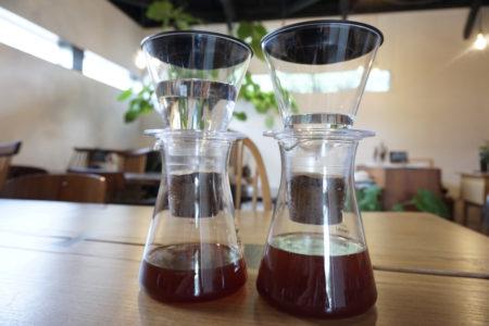 水出しコーヒー。